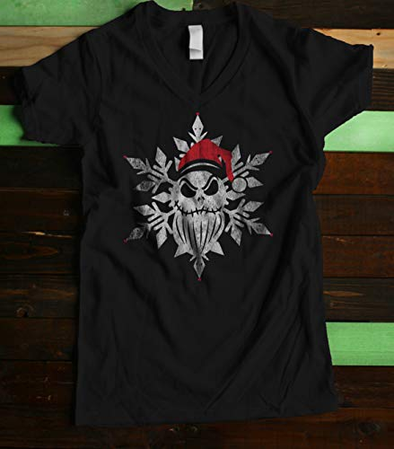 Holiday Jack Women's Fitted V Neck]()