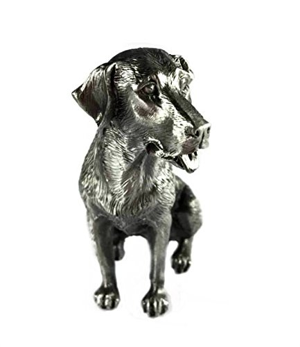 Faithful Friends by XystosLabrador Retirever Solid Pewter Dog Sitting