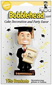 Wilton Graduate Boy Bobbling Cake Topper
