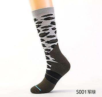 Liuxc Calcetines Calcetines de hombres engrosados calcetines de skate de tubo alto calcetines deportivos de engrosamiento