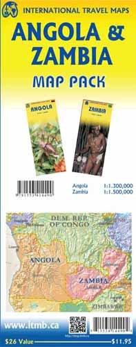 Angola & Zambia Map Pack