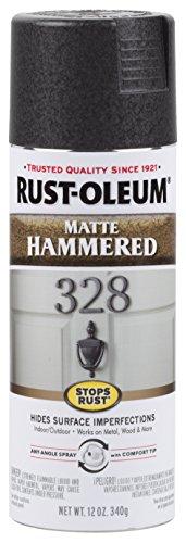 Rust-Oleum 300607 Stops Rust Rust-Oleum, Each, Matte Black