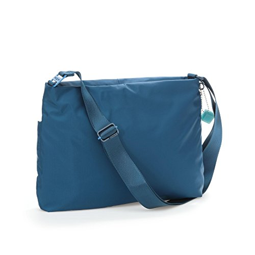 c537a532dfe6 Hedgren Women's Eve Square Shoulder Bag, Moroccan Blue, One Size