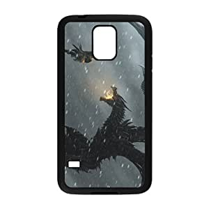 Warrior Battle With Monster Hot Seller Stylish Hard Case For Samsung Galaxy S5