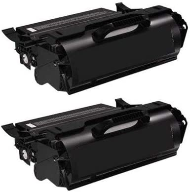 H1RP7/_2PK SuppliesMAX Compatible Replacement for Dell 5530DN//5535DN Extra High Yield Toner Cartridge 2//PK-36000 Page Yield