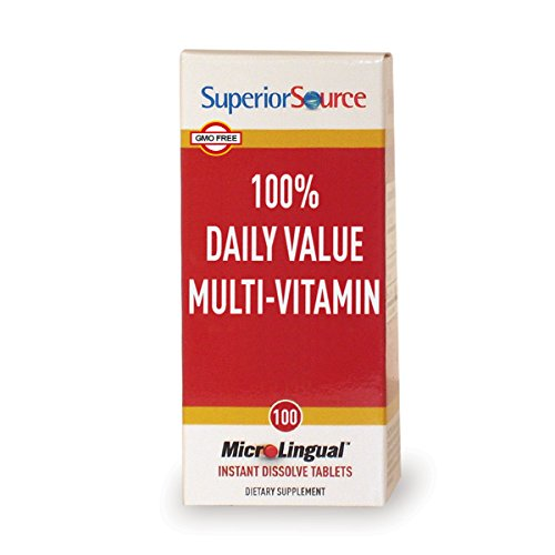 Superior Source One Daily Value Multivitamin, 100 Count