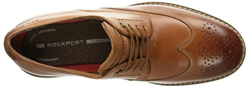 Rockport Mens Classic Break Wingtip Oxford Cognac Leather tKB775VE