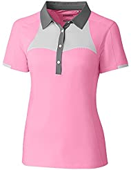 Cutter & Buck Womens S/S Slice Polo