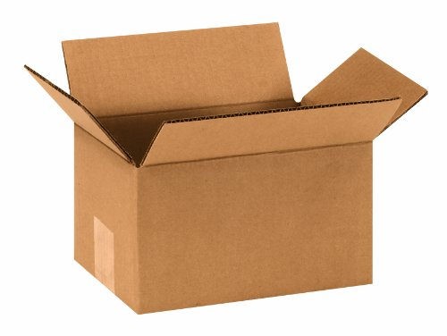 "Aviditi 965 Corrugated Box, 9"" Length x 6"" Width x 5"" Height, Kraft (Bundle of 25) from Aviditi"