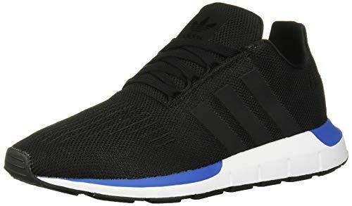 adidas Originals Unisex Swift Running Shoe, Black/Blue, 7 M US Big Kid