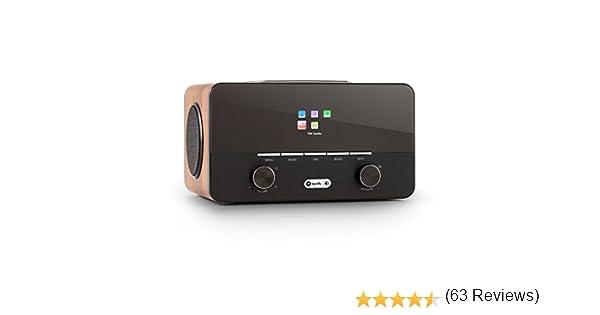 AUNA Connect 150 WN - Radio Internet 2.1, Digital, WLAN, Dab/Dab+/ ...