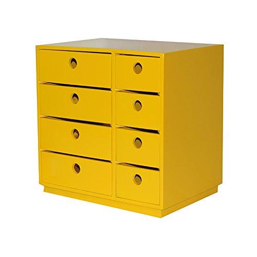 Gaveteiro Servia Amarelo