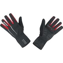 Gore Bike Wear Power Windstopper Soft Shell - Guantes de ciclismo para hombre, color negro, talla 8