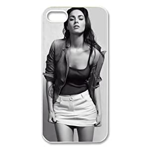 Sexy Megan Fox Hard Skin for For SamSung Galaxy S5 Mini Phone Case Cover - 1 Pack - Black/White - 4- Perfect Gift for Christmas