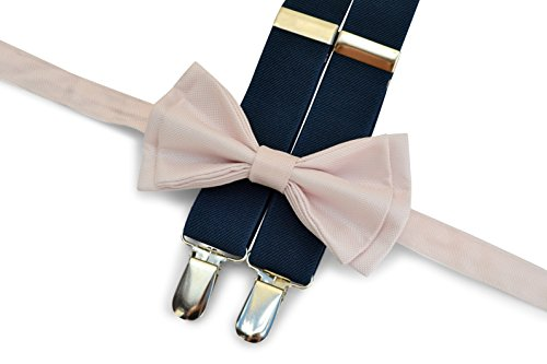 Suspenders Bow Tie Set (5. Adult (6'0