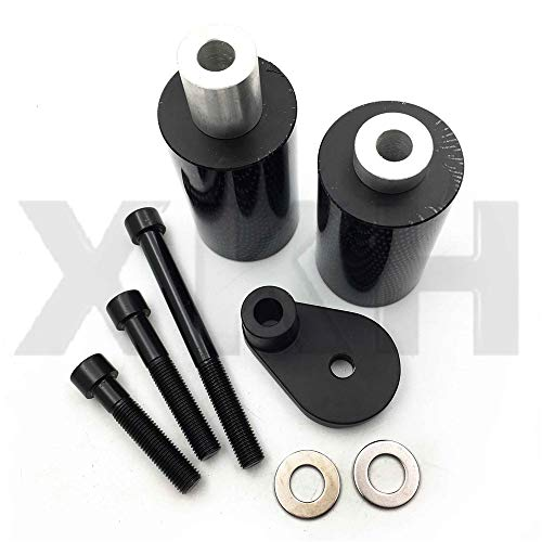 XKH Group Motorcycle carbon No Cut Frame Slider Protector For 2001 2003 Suzuki Gsxr 600 2000 2003 Gsxr 750 N -