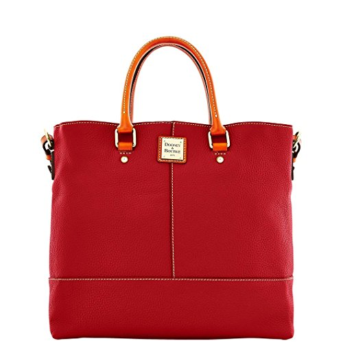 Designer Handbags Dooney (Dooney & Bourke Pebble Grain Chelsea (Cranberry))
