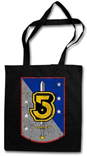 VINTAGE ARMY OF LIGHT LOGO Hipster Shopping Cotton Bag Cestas Bolsos Bolsas de la compra reutilizables - Space Center TV Series Babylon 5