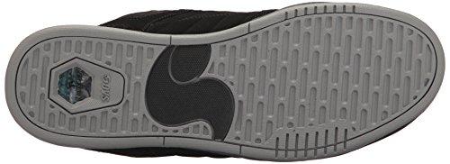 Black Nubuck Scarpe Shoes Drone Uomo da Skateboard DVS Charcoal H8qwSYY