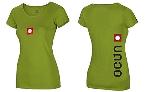 1397f00cde8c6 Ocun Logo Tee - Grün - Damen T-Shirt: Amazon.de: Bekleidung