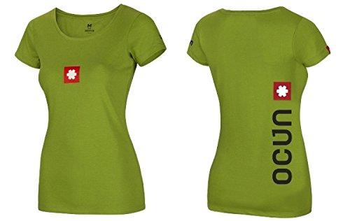 Ocun Logo Tee - Grün - Damen T-Shirt Größe S  Amazon.de  Sport ... 7eed749929