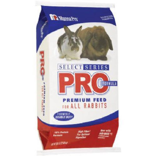 - Manna Pro Select Series Pro Formula Rabbit Feed, 50# Bag