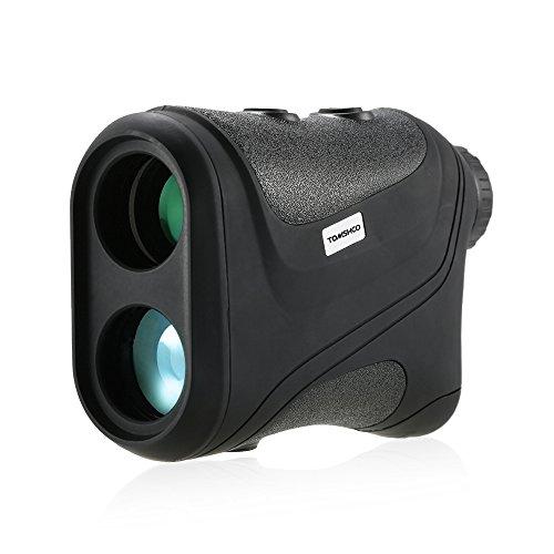 TOMSHOO Golf Laser Rangefinder 600M Distance Measurement Lens Adjustable Hunting Telescope Range Finder Compact Handheld, 18 – 300KM/H Speed Measurement