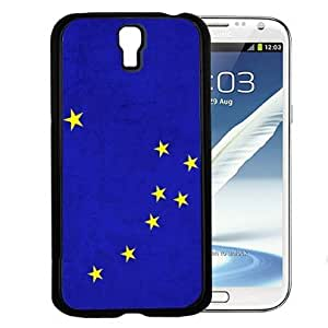 Blue Alaska State Flag with Yellow Stars Hard Snap on Cell Phone Case Cover Samsung Galaxy S4 I9500