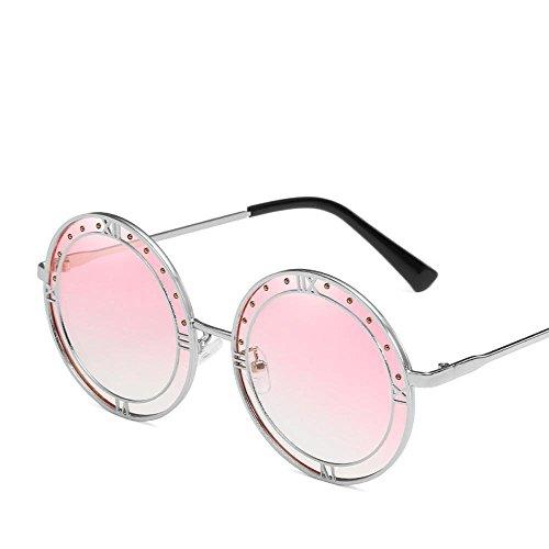 Aoligei Armature en métal romain lunettes de soleil mode pour dame Colorful océan y2OALTtmBM
