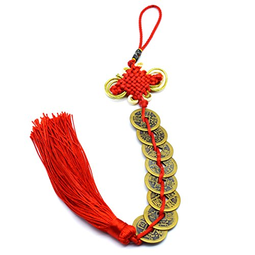 Chinese Feng Shui Coins for Wealth and Success (8 coins)