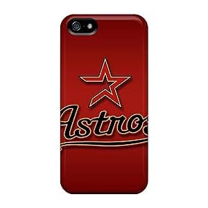 Iphone 5/5s Case Cover Skin : Premium High Quality Houston Astros Case
