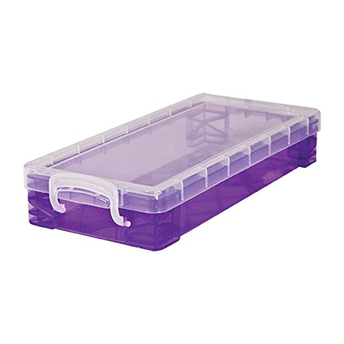 Super Stacker Pencil Box, 8.25 x 1.5 x 4 Inches, Color May Vary, 1 Box (34365)