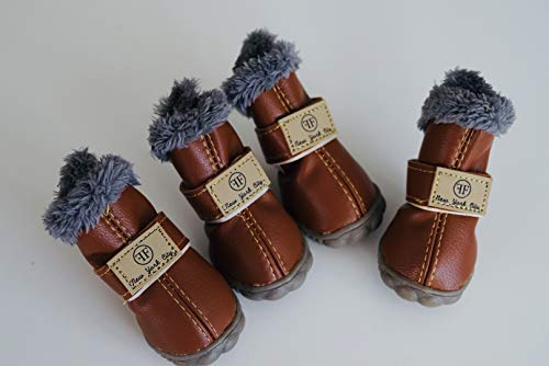 Furry Footwear LLC The Chicago Winter Boot (L, Chocolate)