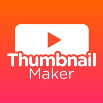 Amazon com: Thumbnail Maker: Youtube Thumbnail & Banner Maker