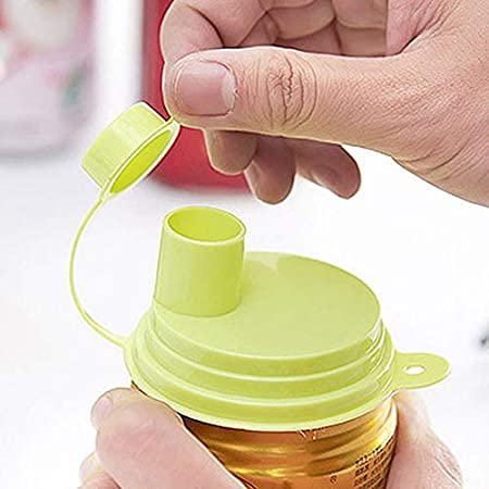Tapas de botellas selladas a prueba de fugas, reutilizables, tapa ...