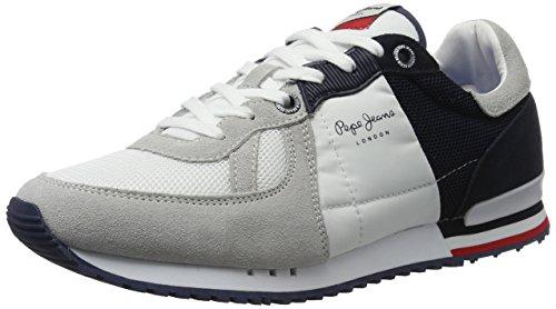 Les Hommes De Jeans Pepe Bricoler Haut Jack Lo, Blanc (blanc)