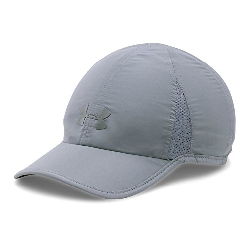 Under Armour Women's Shadow 2.0 Cap, Steel/Steel, One Size