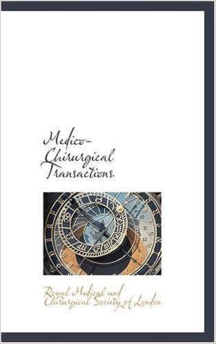 Libros para descargar a kindleMedico-Chirurgical Transactions (Spanish Edition) PDF
