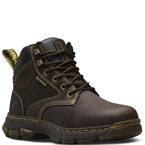Dr. Martens Men's HOLFORD Boot, Gaucho + Dark Brown, 8 Regular UK (9 US) -
