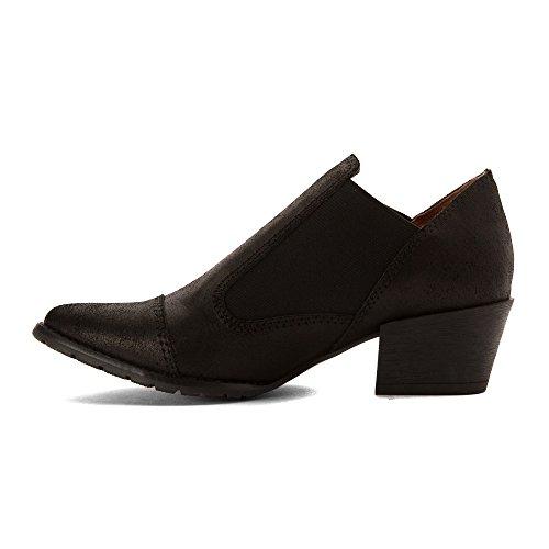 All Black Boots Donna Nero Ala Liscia