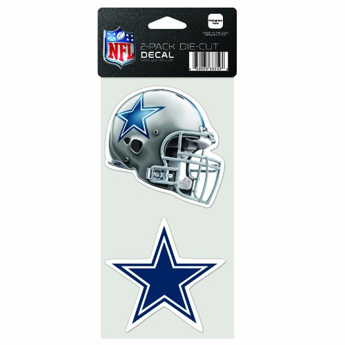 NFL Dallas Cowboys 2-Piece Die-Cut Decal, 4