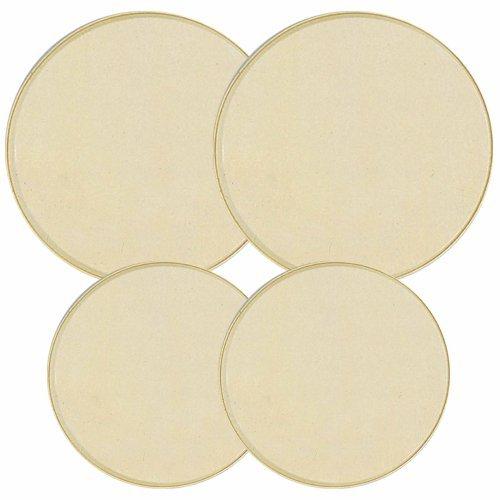 Reston Lloyd Electric Stove Burner Covers, Set of 4, Almond
