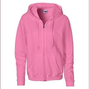 Gildan Women's Heavy Blend Zip Hooded Sweatshirt Azalea XXL