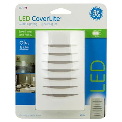 GE CoverLite Night Light White