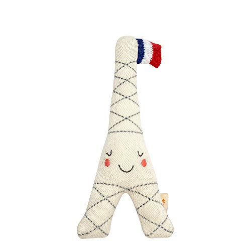 Keepsake Tower - Meri Meri Eiffel Tower Baby Rattle