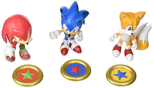 """TOMY Sonic Collector Series 3"""" Figure Pack with Ring"""