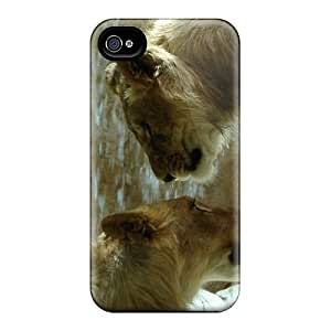 Perfect Fit VcUZs18683odISf Lion Love Case For Iphone - 4/4s