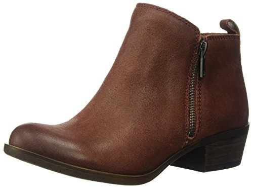 Lucky Women's LK-Basel Ankle Boot, Sable, 8 Medium US