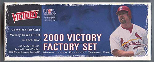 2000 Upper Deck Victory Baseball Complete Factory Set