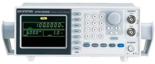 Offset Instek Generator (GW Instek AFG-2005 Arbitrary DDS Function Generator, 0.1Hz to 5MHz Frequency Range)
